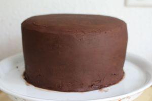 Kuchen Schachbrett Muster
