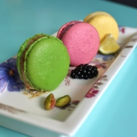 Französische Macarons
