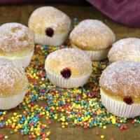 Kreppel Muffins (Berliner aus dem Backofen)