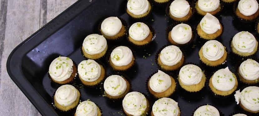 Gin-Limetten Cupcakes