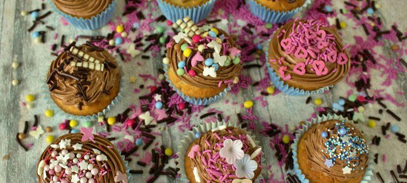 Vanille Cupcakes mit AmericanButtercreme