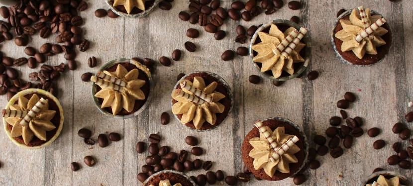 Espresso Nuss Cupcakes: SilvesterSpecial!