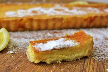 Köstliche Zitronen-Tarte: Guten Appetit!