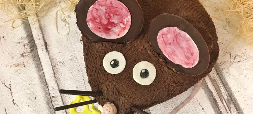 Maus Kuchen (eigentlich eineRatte…)