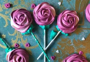 Baiser-Rosen zum Verschenken.