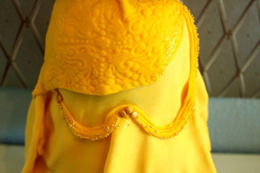 """Prinzessin Torte """"Belle"""" (Barbietorte)"""