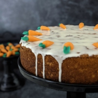 Karottenkuchen (vegan)